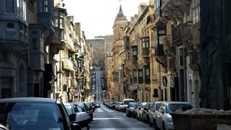Valletta, the capital of Malta established in 1500s, a World Heritage site